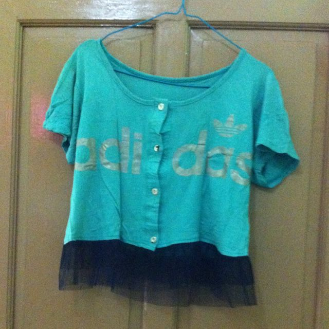 Adidas Green Blouse