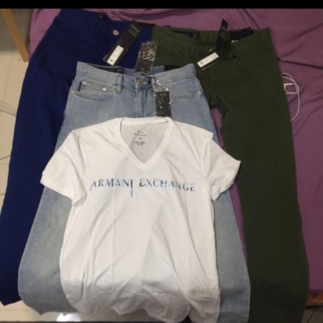 Armani Exchange Jeans And 1 Armani Exchange Tshirt