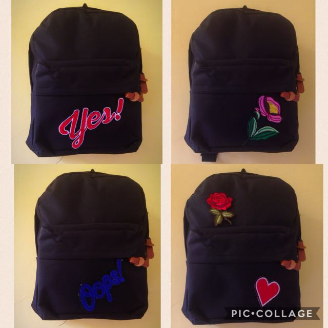 Backpack Mini With Patch