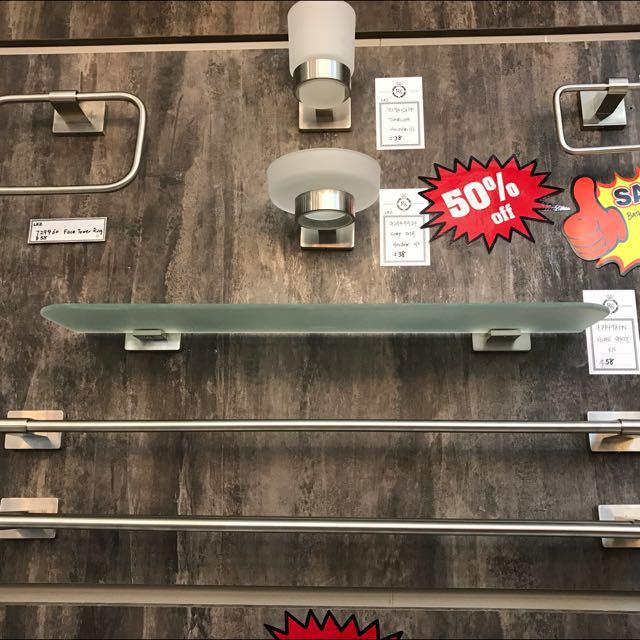 Bathroom Towel Rack 1 Set ( 2pcs For Both Common BathRoom And Master Bathroom )