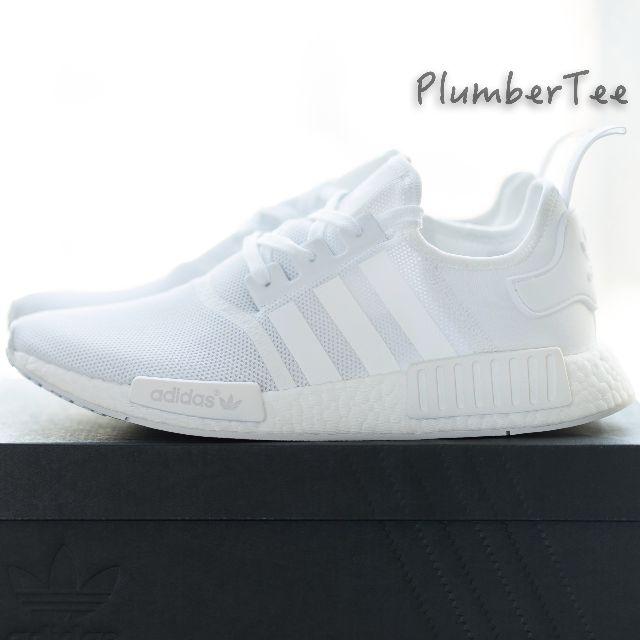 Adidas Original NMD R1 Monochrome Pack All White