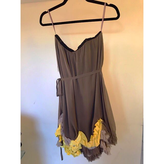 CAMILLA AND MARC strapless dress RPR: $600