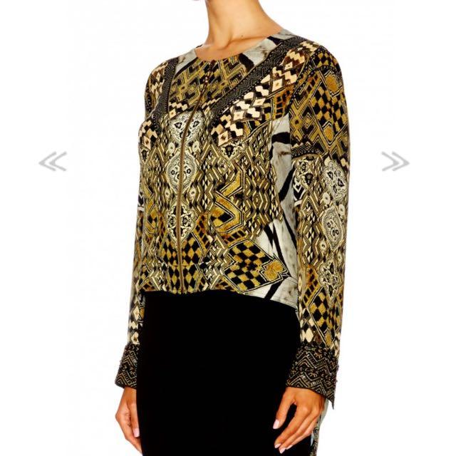 Camilla Zip Jacket Size 8