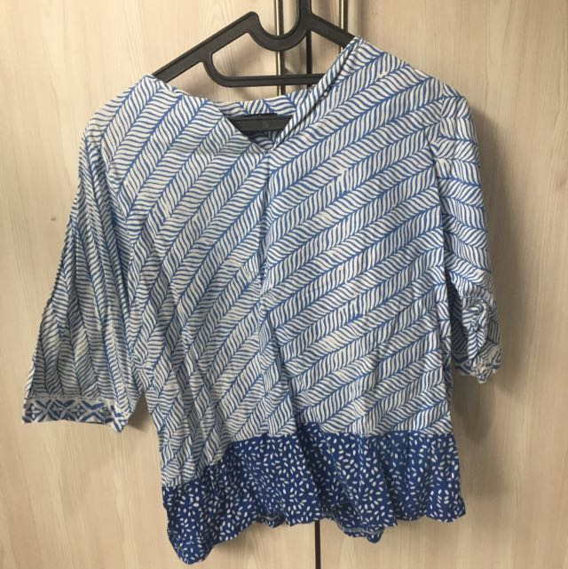 Casual Batik Top