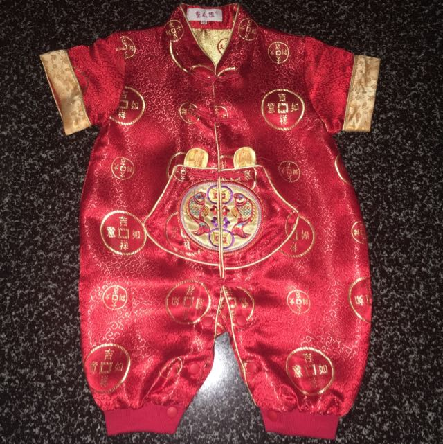 CNY Clothes For Baby Boy 1-2years Old