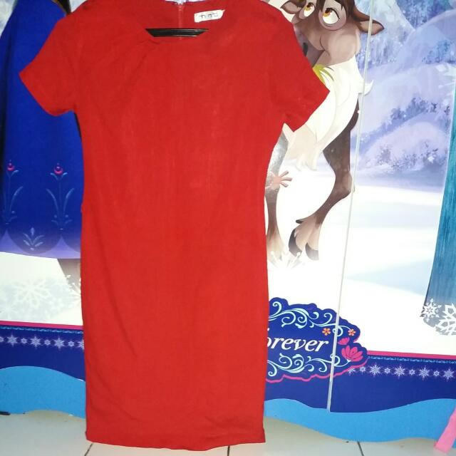 Dress MINT Uk.8 Warna Merah
