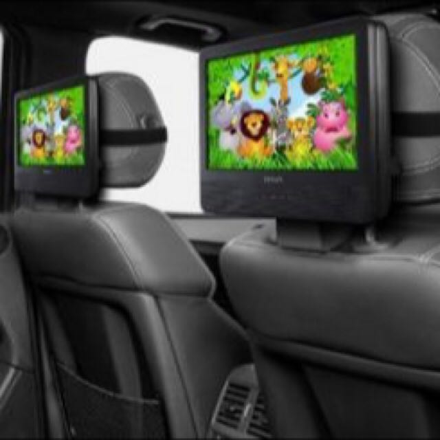 Sale!!Dvd Entertainment With Monitor For Inside Car