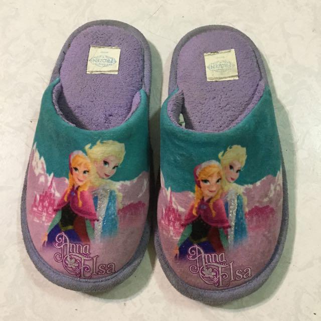 Forzen 冰雪奇緣 室內拖鞋