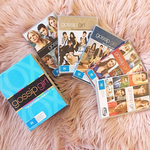 Gossip Girl Boxset (All Seasons) DVD