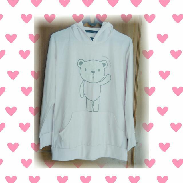 Hello Bear! Sweater (Baby Pink)