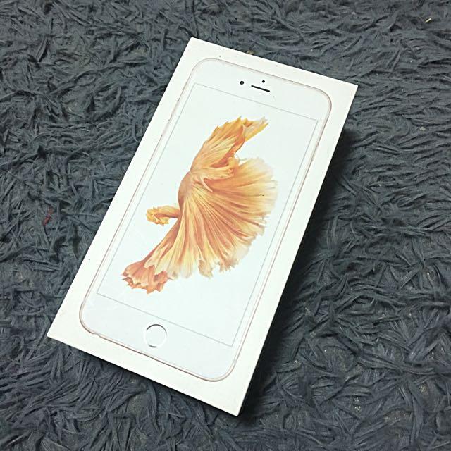 iPhone6s plus玫瑰金