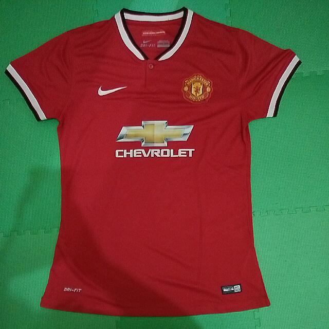 Jersey Manchester United Cewek Ukuran L