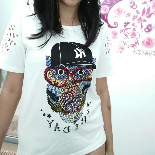 Kaos Owl Friday