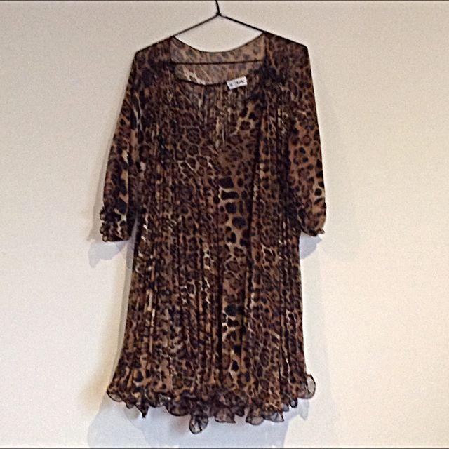 Kiik Leopard Print Dress