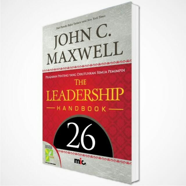 Leadership Hanbook John C.Maxwell