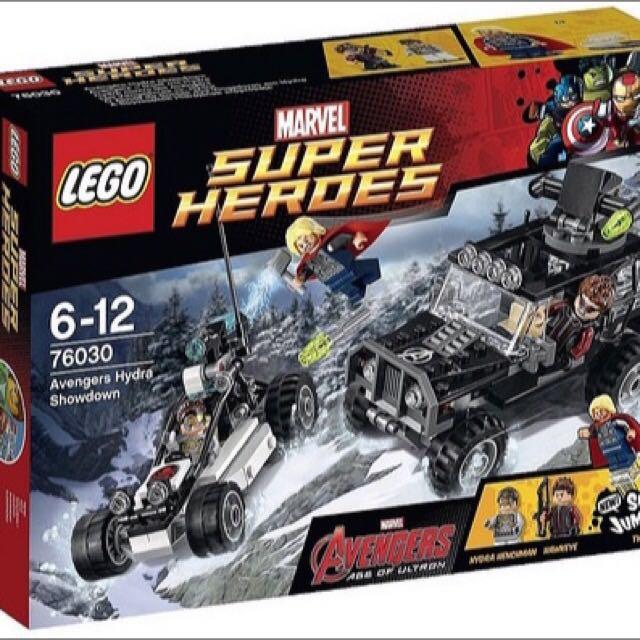 Lego Avengers 76030