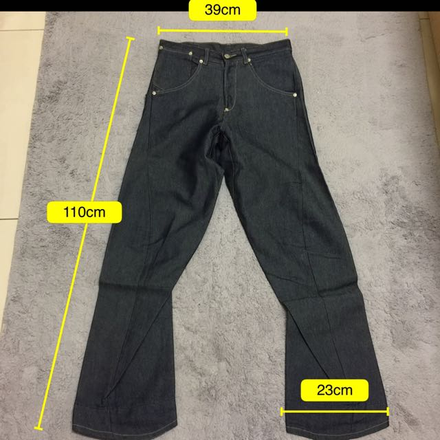 Levis 3D剪裁單口袋