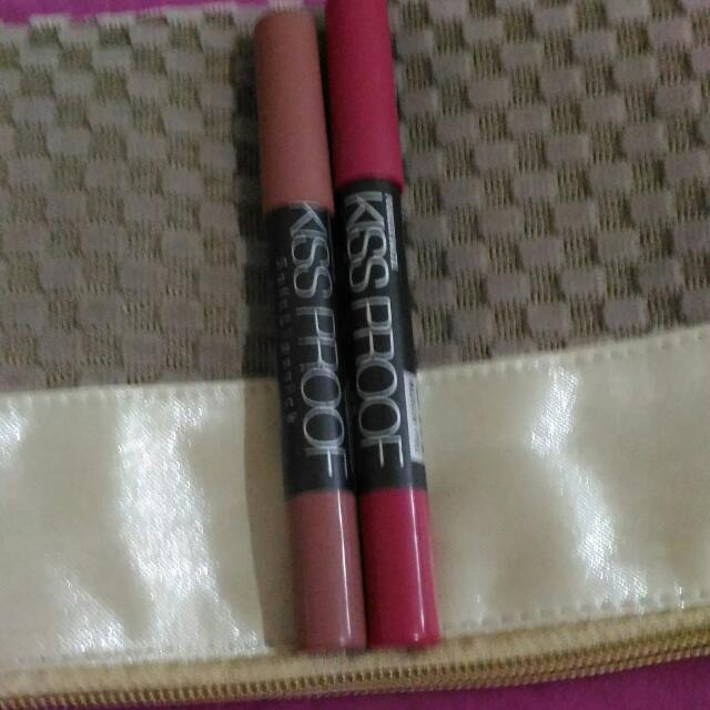 Lipstik Kissproof Matte 2pcs