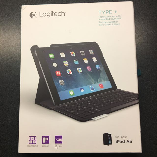 Logitech type + for iPad Air