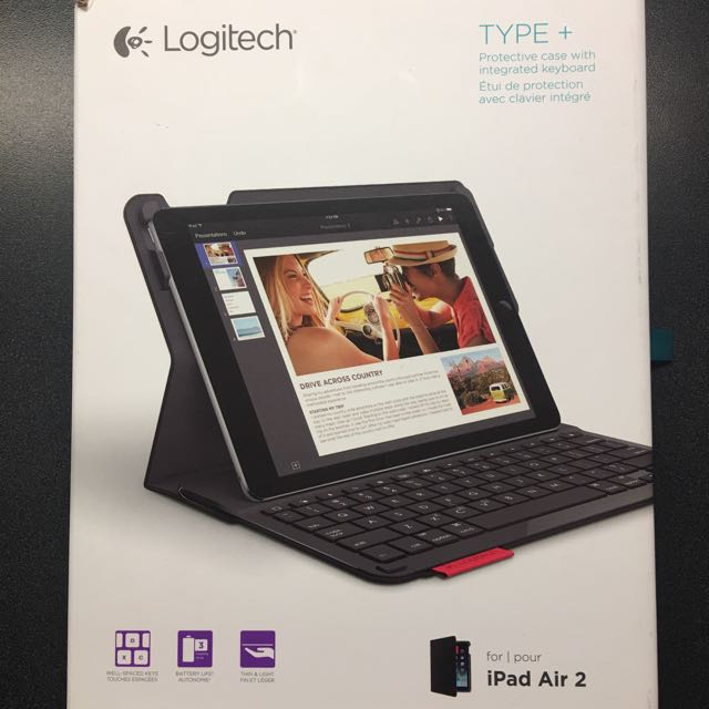 Logitech type + for iPad Air 2