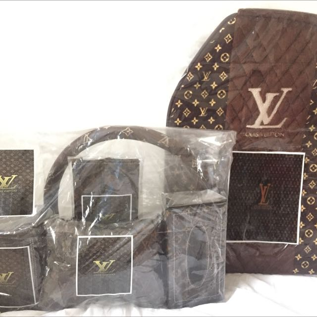 LOUIS VUITTON Car Accesories Interior Set