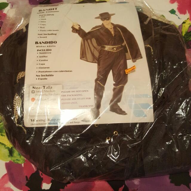 Men's Costume - Zorro & Superman