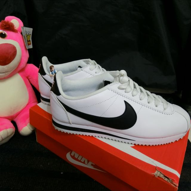 #運費我來出 Nike Cortez 白色阿甘