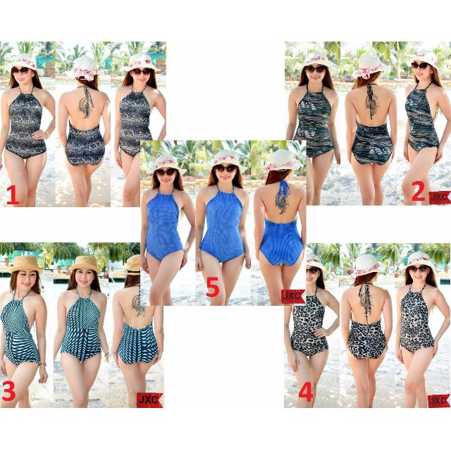 One 1 Piece Backless Swimsuit / Bathing Suit _RX25