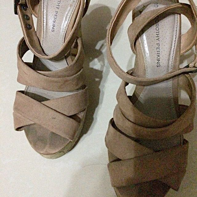 Original Dorothy Perkins Strap Heels