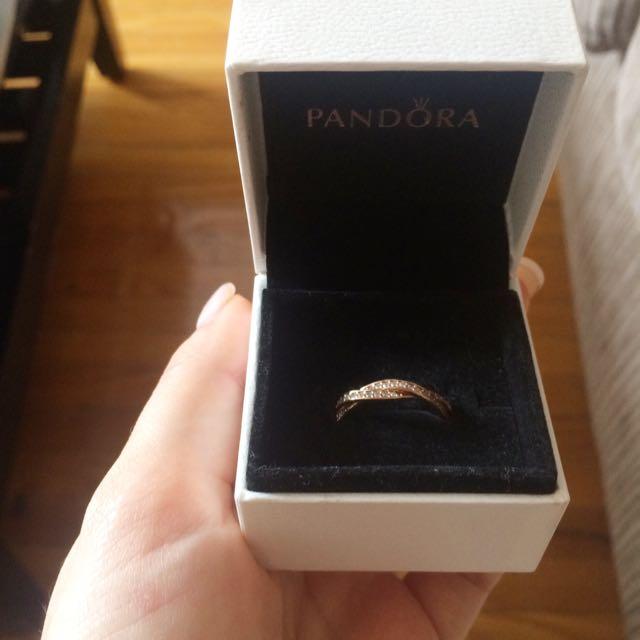 Authentic Pandora Twist Of Fate Ring