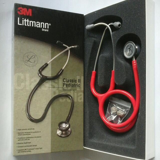 New Pediatric Littmann Stethoscope