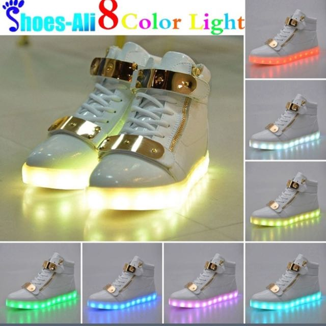 Pre Order 8in 1 Light Shoes