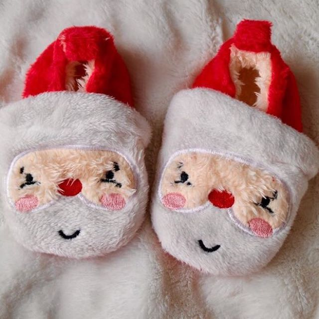 PRE-LOVED Pre-walker Santa Claus Christmas Shoes