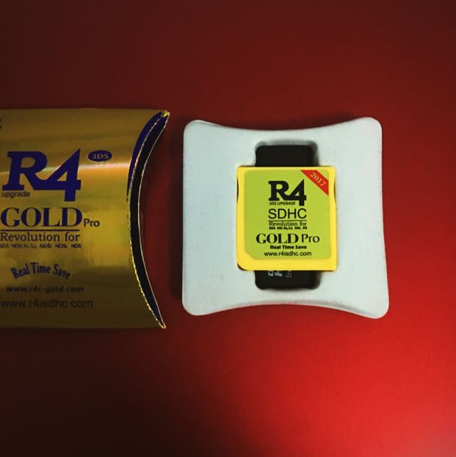 R4 Gold Pro 2017
