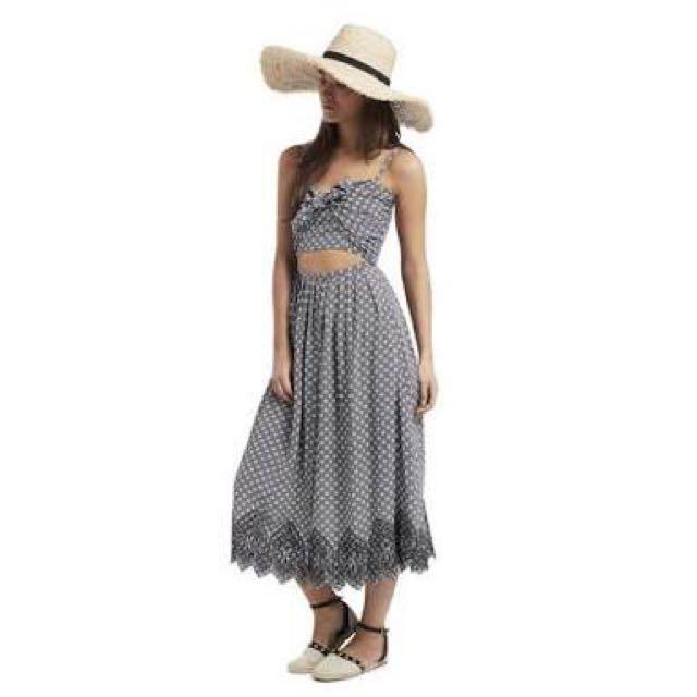 Seed Heritage Peek A Boo Dress