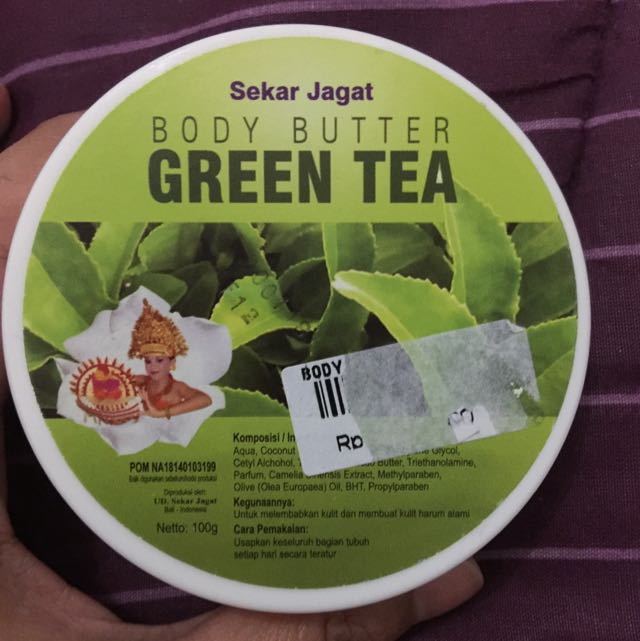 Sekar Jagat Body Butter - Green Tea