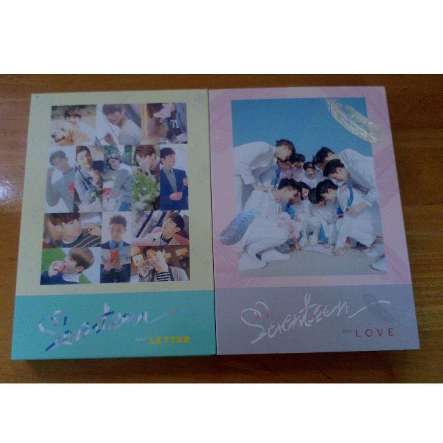 Seventeen love& letter album unsealed