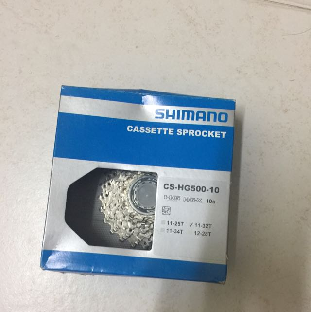 Shimano 10 Speed 11-32T