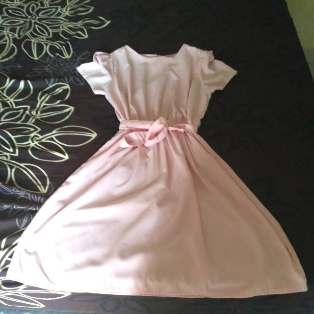 Twiscone Dress Pink