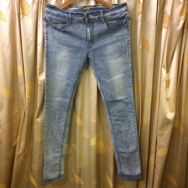 韓國skinny牛仔褲