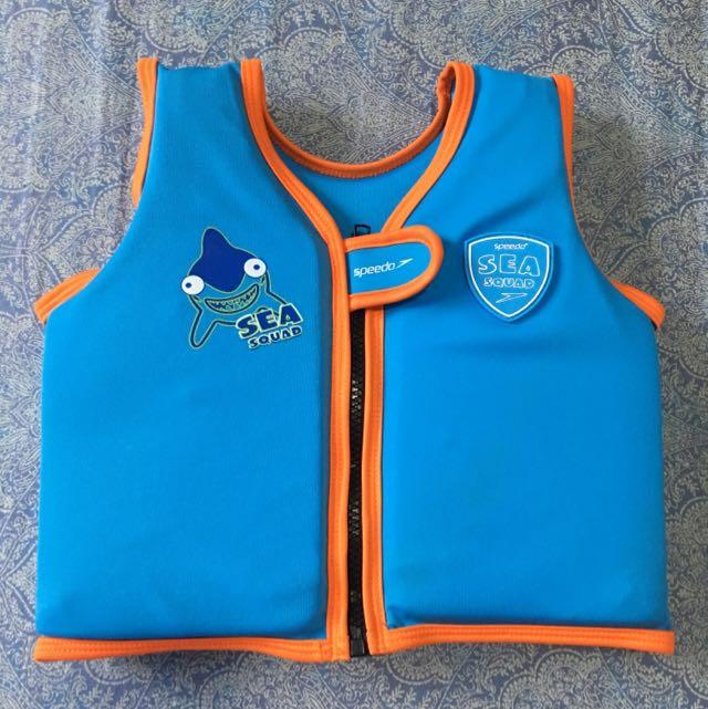 Speedo Floater Vest For Boys