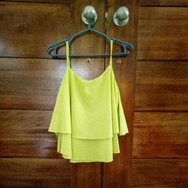 Top Hanging Blouse (apple green)