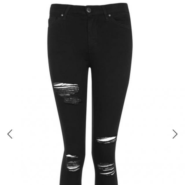 Topshop Jamie Ripped Jeans - 30