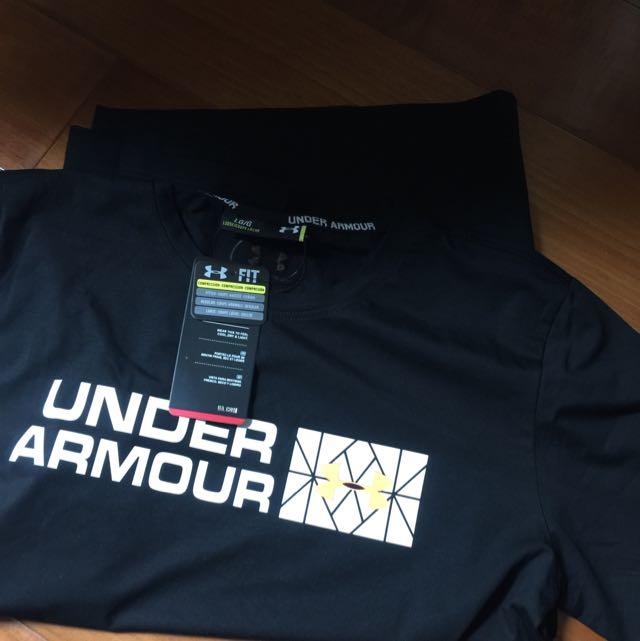 降!Under Armour Black 男