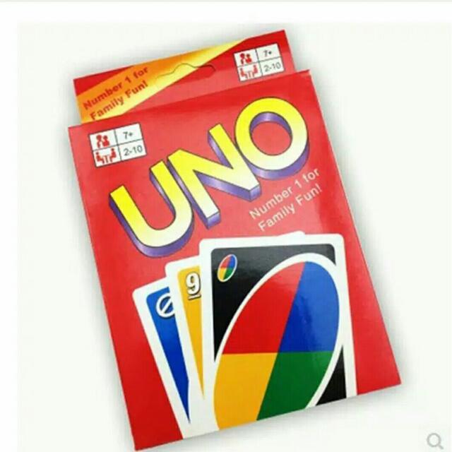 Uno Card / Kartu Uno / Mainan Edukatif
