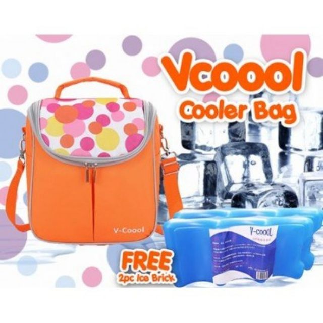 V Cool Bag With Ice Pack 2 Toys Games Other Toys On Carousell