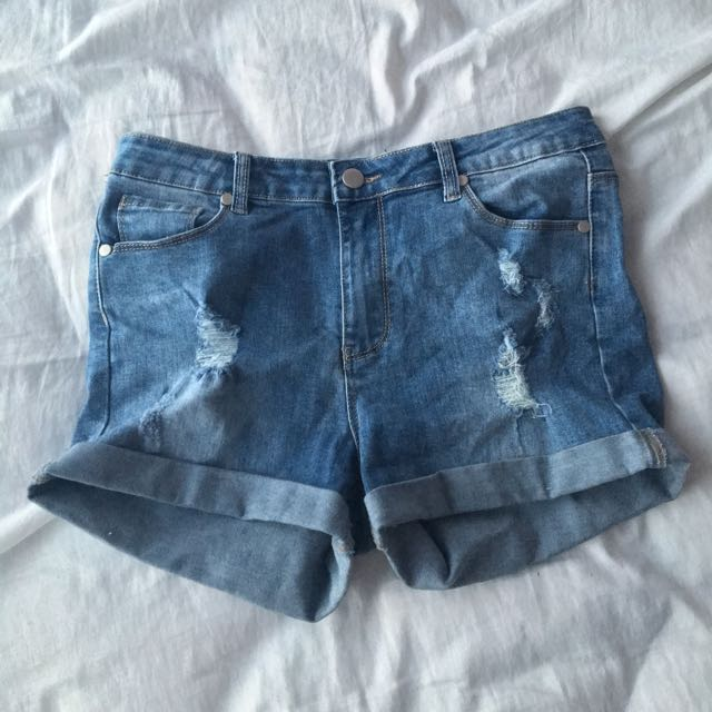 Valley Girl Jean Shorts