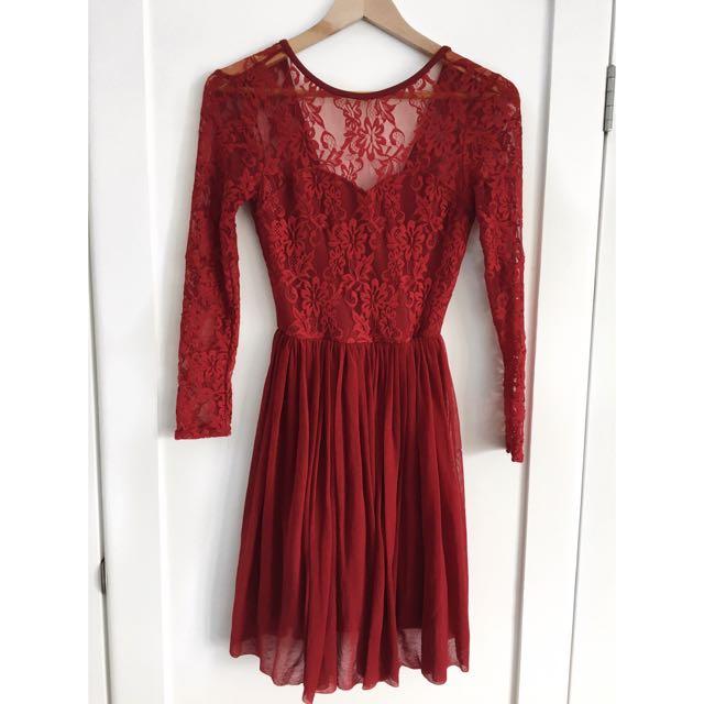 Vera Moda Lace Dress