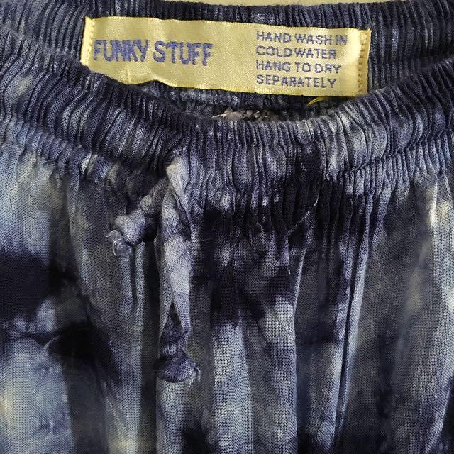 Vintage Tie Dye Maxi Skirt