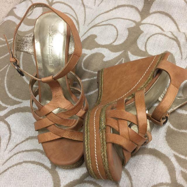 Wedge Heels By Isabella Anselmi